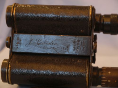 '   WW1 ROSS ' Ross World War 1 -VERY EARLY- Vintage Binoculars c/w Inscription - FIFE LIGHT HORSE- VERY RARE £149.99